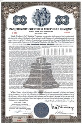 Pacific Northwest Bell Telephone Company  - Manhattan, The City of New York 1963