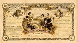 Panificadora Popular Madrilena 1916