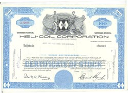 Pack of 100 Certificates - Heli-Coil Corporation - Price includes shipping costs to U.S.
