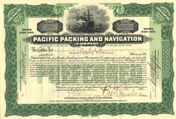 Pacific Packing and Navigation Company - Puget Sound and Alaska 1902