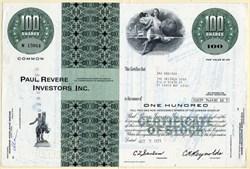 Paul Revere Investors Inc. - 1971