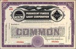 Paramount Famous Lasky Corporation - New York