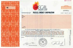 Pascall Energy Corporation