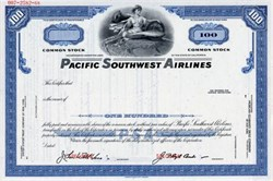 Pacific Southwest Airlines (PSA) - California 1968