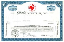 Pathe Industries,Inc. - Red Rooster Vignette