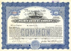 Palmer Union Oil Company (Became Coca Cola) - California 1928