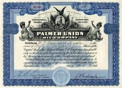 Palmer Union Oil Company - California 1912