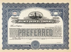 Palmer Union Oil Company (Became Coca Cola)  - California