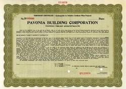 Pavonia Building Corporation - New York
