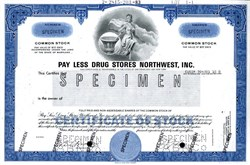 Pay Less Drug Stores Northwest, Inc. ( Became Rite Aid)- 1983