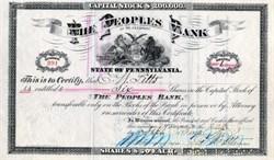 Peoples Bank of McKeesport - Pennsylvania 1912