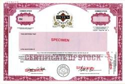 Pete's Brewing Company (RARE Specimen ) - California