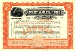 Pennsylvania Coal and Coke Company - Pennsylvania 1908