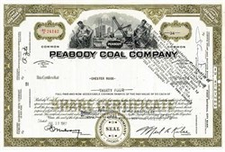 Peabody Coal Company ( Now Peabody Energy ) - Peabody Energy Files for Chapter 11 Bankruptcy Protection