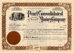 Pearl Consolidated Mining Company - Washington