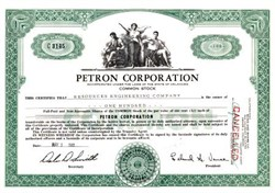 Petron Corporation  -  Oklahoma 1961