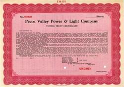 Pecos Valley Power & Light Company
