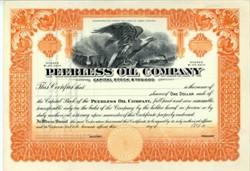Peerless Oil Company - West Virginia