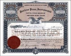 Peerless Press, Incorporated 1920