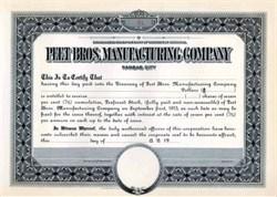 Original  Colgate Palmolive Company 1910 -  KC, Missouri