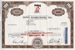 Peppy Hamburgers (Biff's)  - Michigan 1970