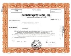 PetmedExpress.com, Inc. - Florida 2002