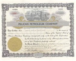 Pelican Petroleum Company - Washington