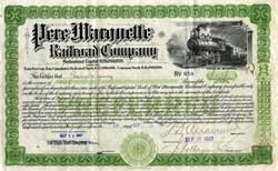 Pere Marquette Railroad Company - Michigan 1907