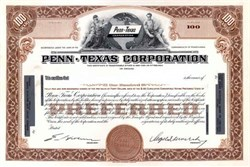 Penn-Texas Corporation ( Early Coltec Industries )