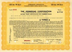 Pennroad Corporation ( Became Madison Fund )
