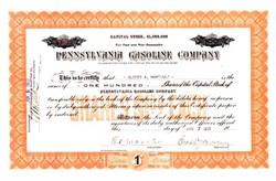 Pennsylvania Gasoline Company 1917