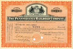 Pennsylvania Railroad Company 1940's and '50's