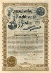 Pennsylvania, Poughkeepsie and Boston Railroad Company 1896