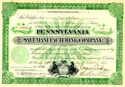 Pennsylvania Salt Manufacturing Company 1932