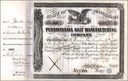 Pennsylvania Salt Manufacturing Company 1888 - Quaker Business