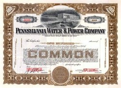 Pennsylvania Water & Power Company ( Pennsylvania Power & Light )