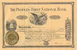 The Peoples - First National Bank of Hoosick Falls