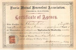 Peoria Mutual Benevolent Association 1868