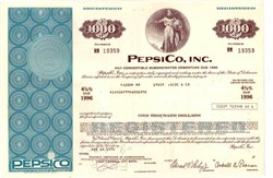 PepsiCo, Inc. (Pepsi Cola) 1970's
