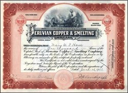 Peruvian Copper & Smelting Company 1921 - Delaware