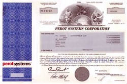 Perot Systems Corporation - Ross Perot as President