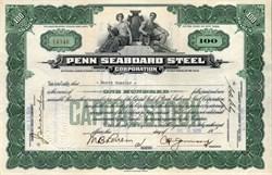 Penn Seaboard Steel Corporation - New York 1926