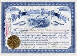 Pennsylvania Soap Company - Lancaster, Pennsylvania 1903