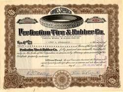 Perfection Tire & Rubber Co. - Delaware 1919