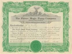Petrov Magic Pump Company