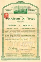 Petroleum Oil Trust Ltd. 1893
