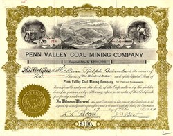 Penn Valley Coal Mining Company - Youngwood, Pennsylvania 1924