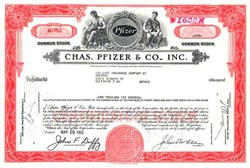 Pfizer - Chaz Pfizer & Co. - Scare Red Color