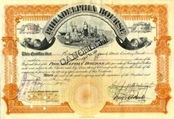 Philadelphia Bourse (Philadelphia Stock Exchange) - Pennsylvania 1918