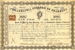 Philadelphia College of Pharmacy - Pennsylvania 1869